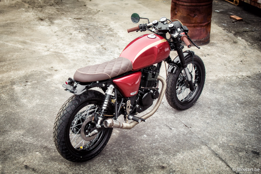 T Factorbikes Motorcyclestore Cooper Bullit 125 Caferacer